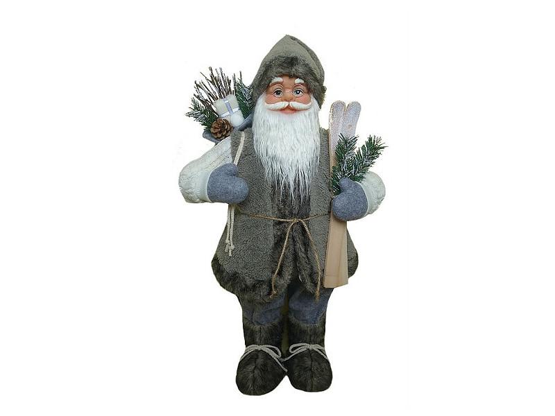 Игрушка Winter Glade Дед Мороз 60cm Grey М14