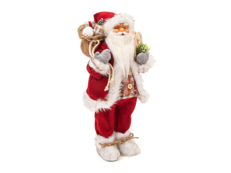 Игрушка Winter Glade Дед Мороз 46cm Red M97