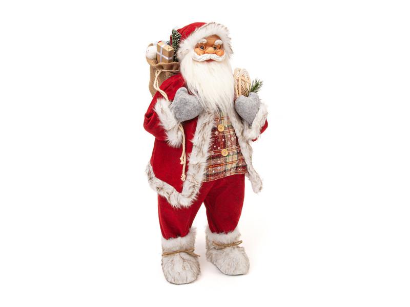 Игрушка Winter Glade Дед Мороз 80cm Red M95