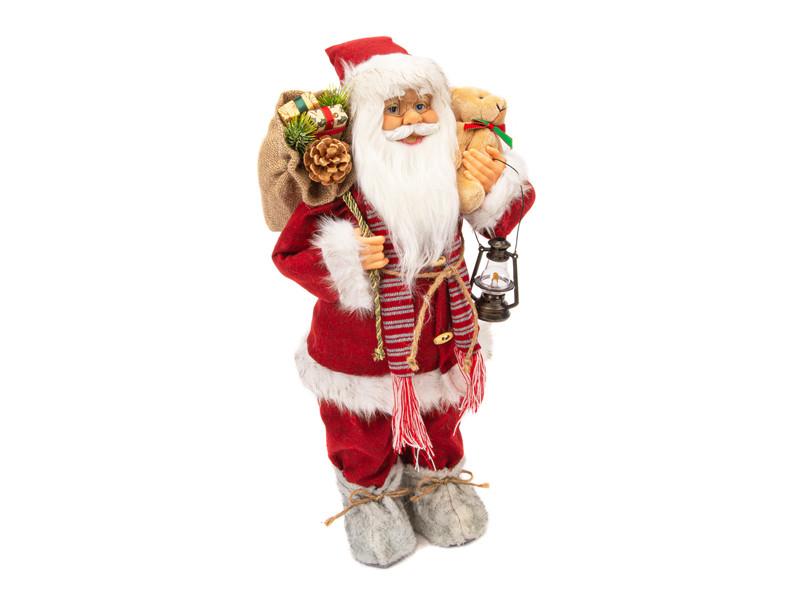 Игрушка Winter Glade Дед Мороз 60cm Red Velvet M22
