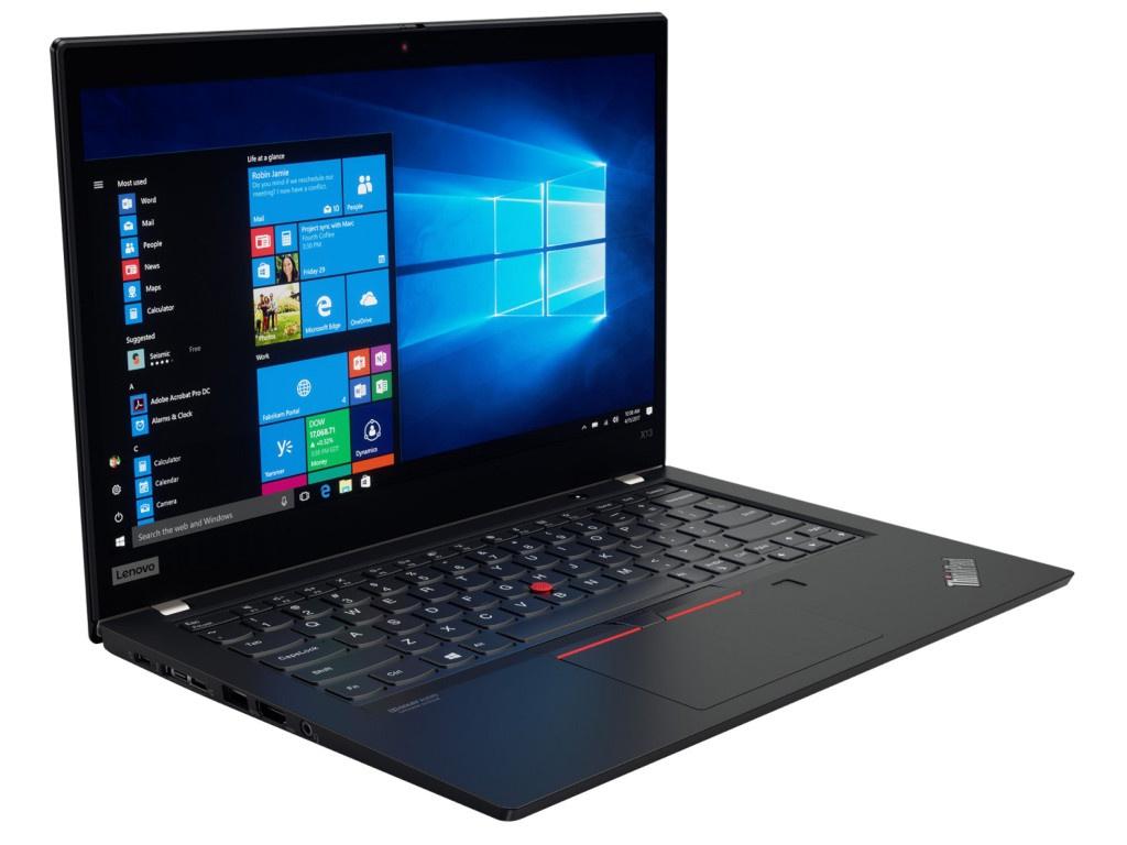 Ноутбук Lenovo ThinkPad X13 20UF000LRT (AMD Ryzen 5 PRO 4650U 2.1 GHz/16384Mb/256Gb SSD/AMD Radeon Graphics/Wi-Fi/Bluetooth/Cam/13.3/1920x1080/Windows 10 Pro 64-bit)