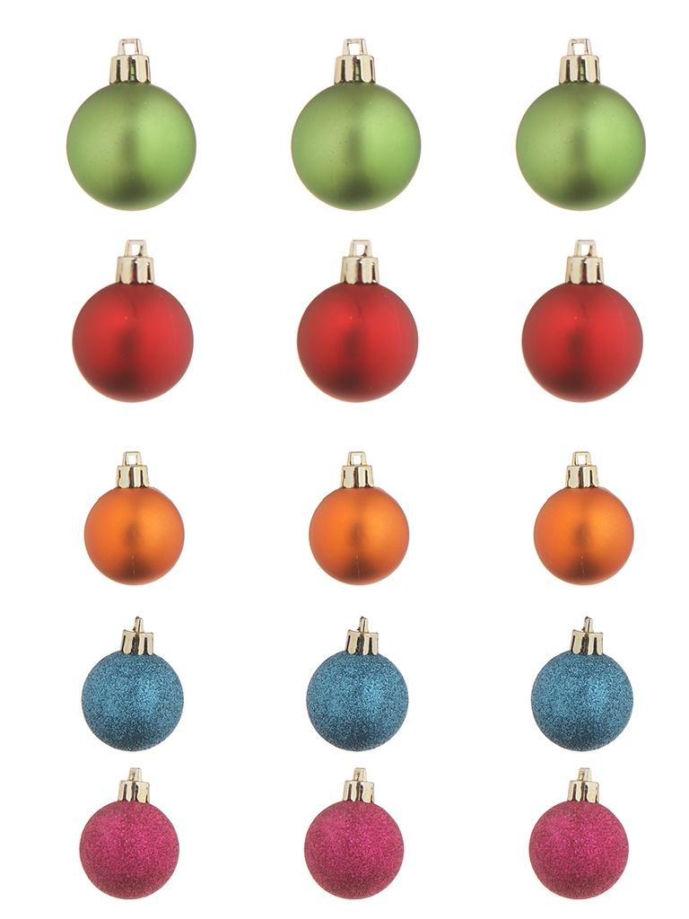 Набор шаров с верхушкой Christmas Goods 47шт Mix 81157G136