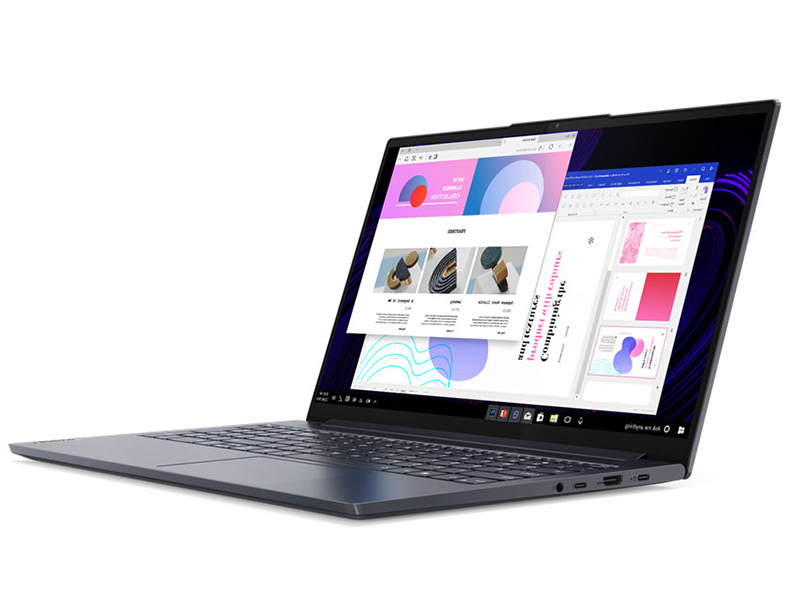 Ноутбук Lenovo Yoga Slim 7 15IIL05 82AA002ARU (Intel Core i5-1035G4 1.1 GHz/16384Mb/512Gb SSD/Intel Iris Plus Graphics/Wi-Fi/Bluetooth/Cam/15.6/1920x1080/Windows 10 Home 64-bit)