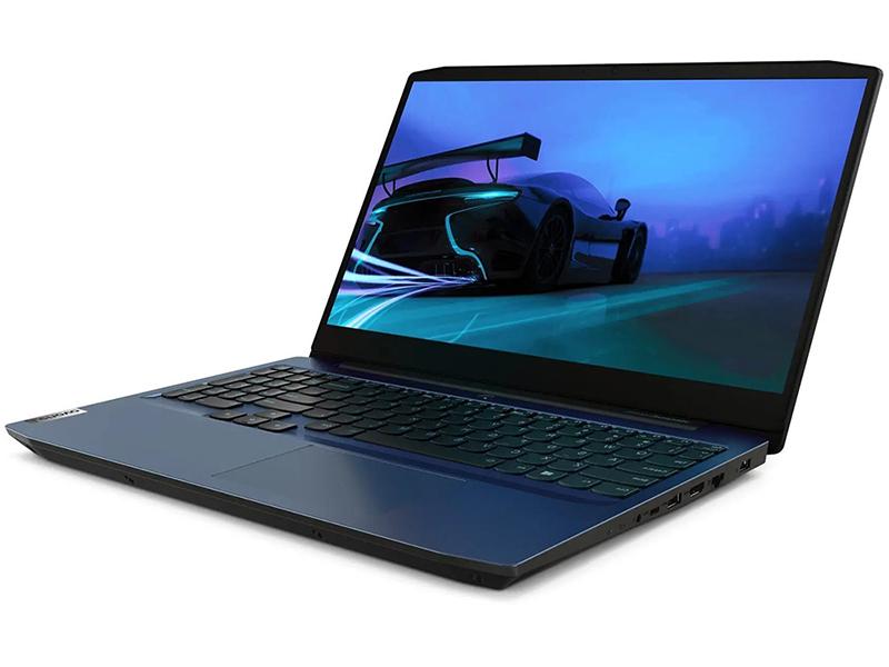 Ноутбук Lenovo IdeaPad Gaming 3 15IMH05 81Y4009CRK (Intel Core i7-10750H 2.6 GHz/16384Mb/512Gb SSD/nVidia GeForce GTX 1650Ti 4096Mb/Wi-Fi/Bluetooth/Cam/15.6/1920x1080/DOS)
