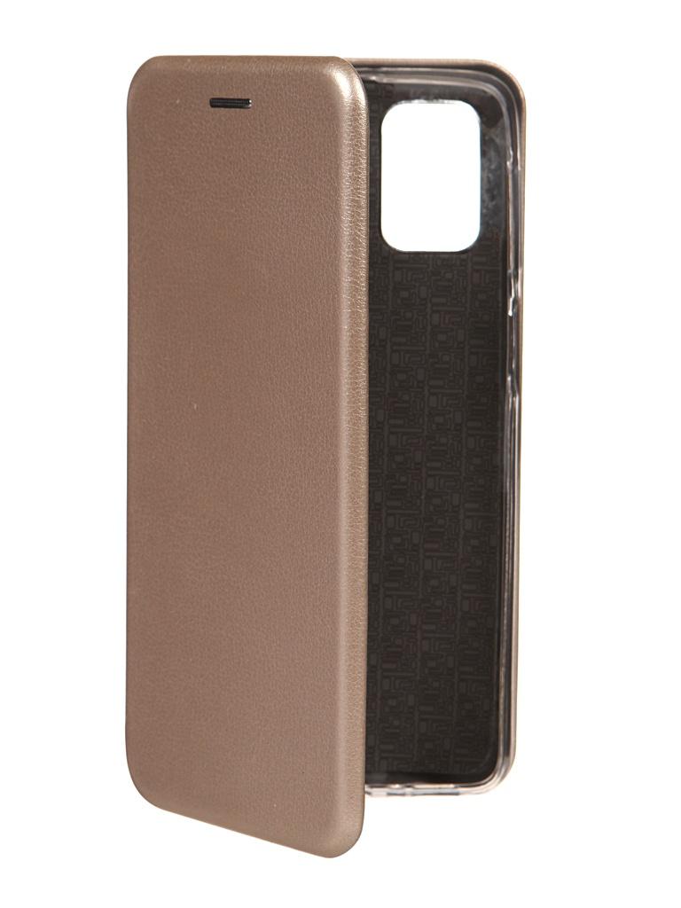 Чехол Zibelino для Samsung M31s (M317) Book Gold ZB-SAM-M31S-GLD
