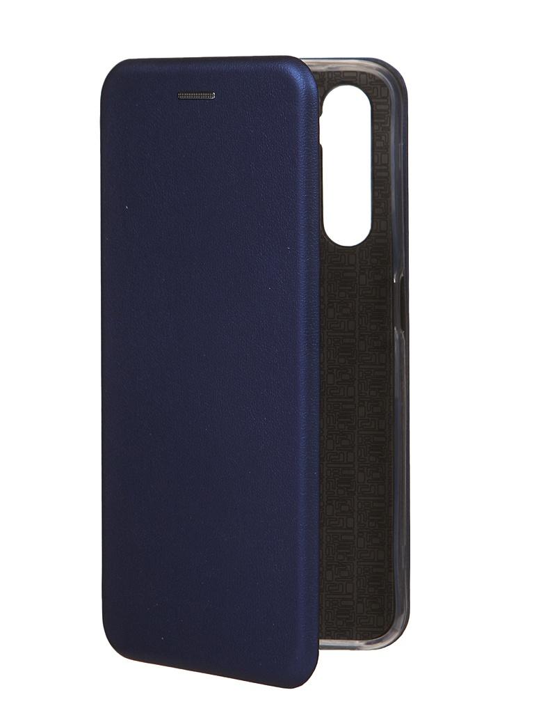 Чехол Zibelino для Realme 6 Book Blue ZB-RLM-6-BLU