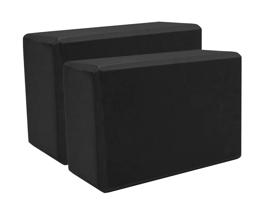 Блок для йоги ZDK 10cm 2шт Black