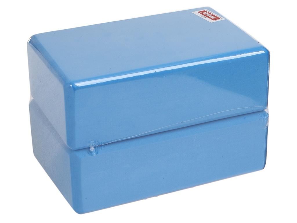 Блок для йоги ZDK 7.5cm 2шт Light Blue блок для йоги lite weights light blue 5494lw