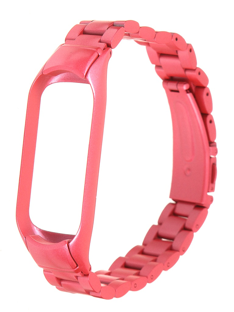 Aксессуар Ремешок Bruno для Xiaomi Mi Band 5 Metallico Pink 5215