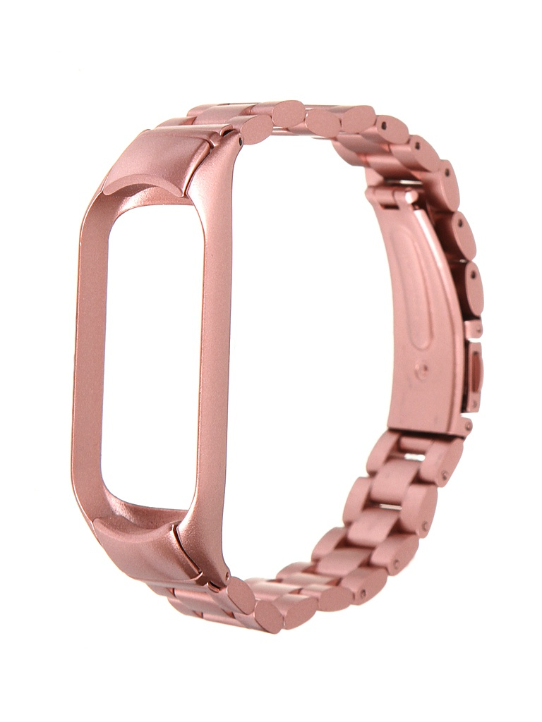 Aксессуар Ремешок Bruno для Xiaomi Mi Band 5 Metallico Pink-Gold Matt 5227