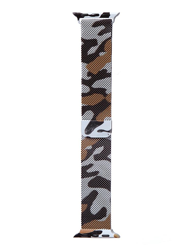 Аксессуар Ремешок Bruno для APPLE Watch 38/40mm Milano Camouflage 1029