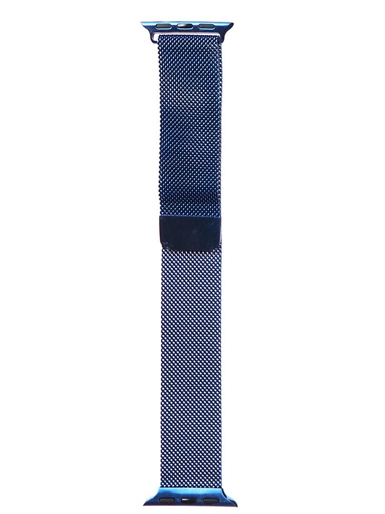 Аксессуар Ремешок Bruno для APPLE Watch 38/40mm Milano Blue b20526