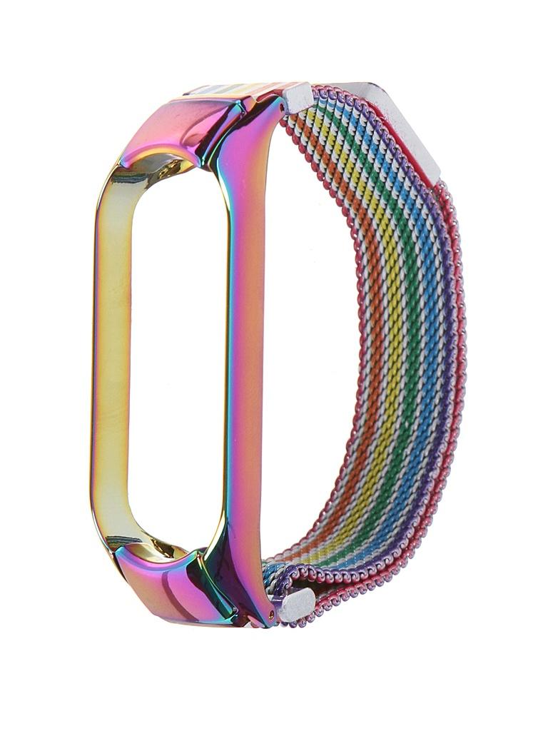 Aксессуар Ремешок Bruno для Xiaomi Mi Band 5 Milano Rainbow 5020