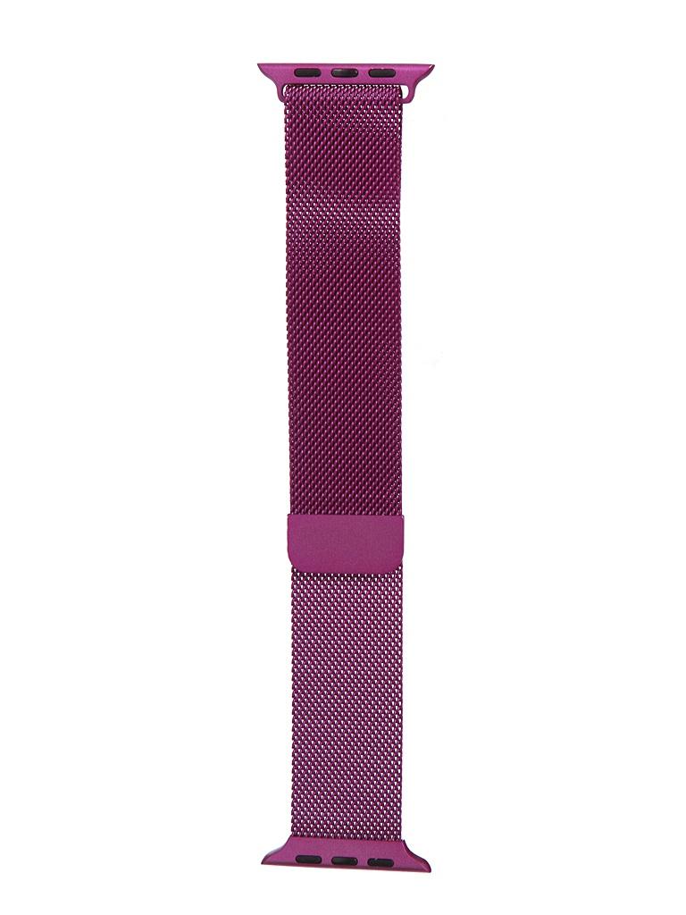 Аксессуар Ремешок Bruno для APPLE Watch 42/44mm Milano Purple b20535 аксессуар ремешок bruno для apple watch 42 44mm milano dark grey 1022