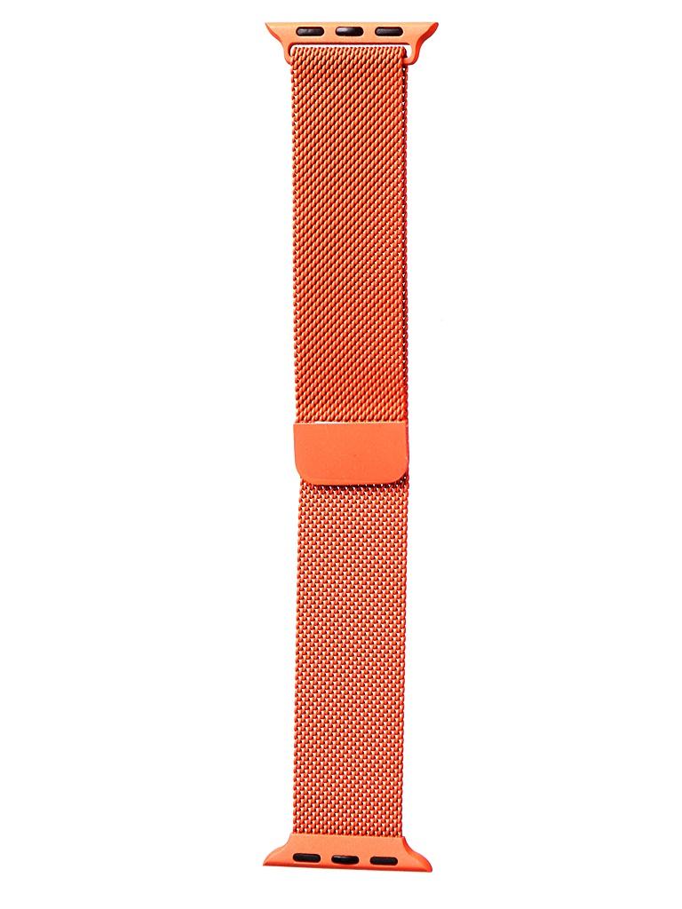 Фото - Аксессуар Ремешок Bruno для APPLE Watch 38/40mm Milano Orange b20518 аксессуар ремешок bruno для apple watch 38 40mm milano black 1027