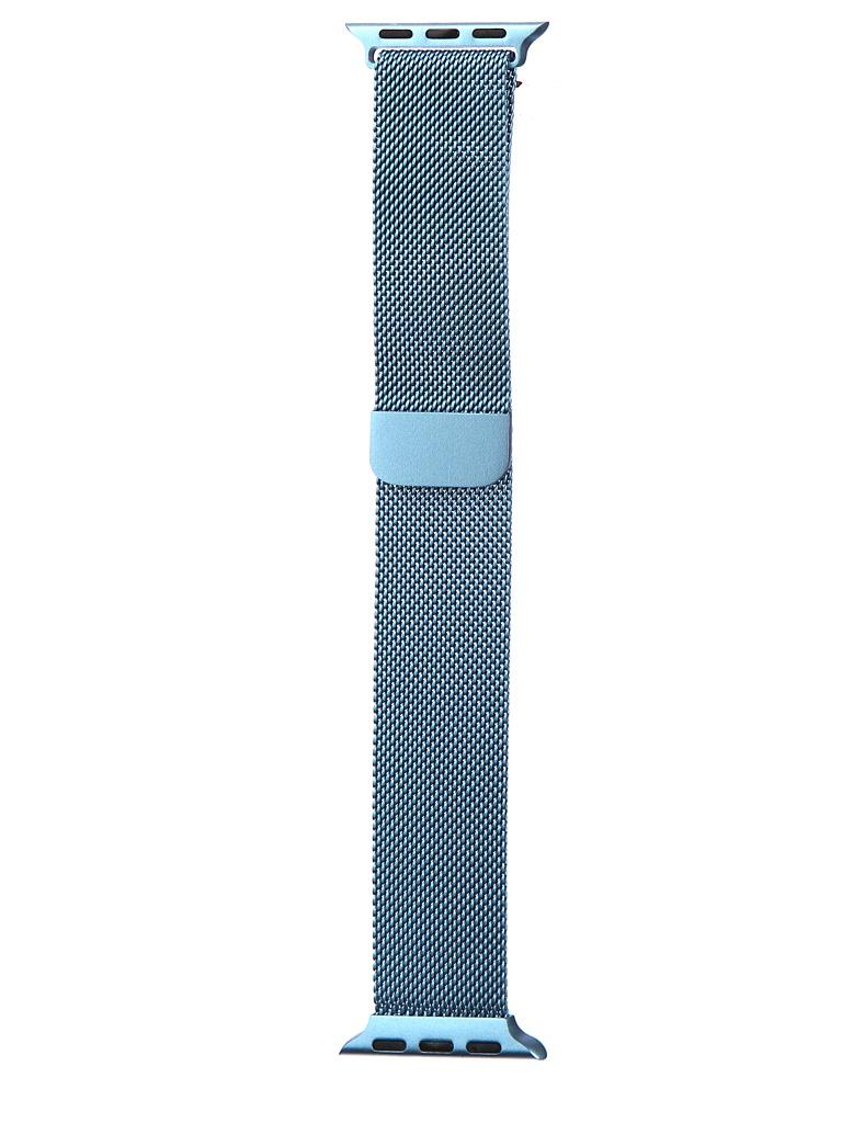 Аксессуар Ремешок Bruno для APPLE Watch 38/40mm Milano Light Blue b20520