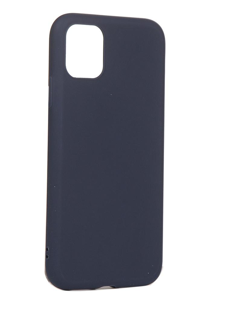 Чехол Neypo для APPLE iPhone 11 Soft Matte Dark Blue NST15342