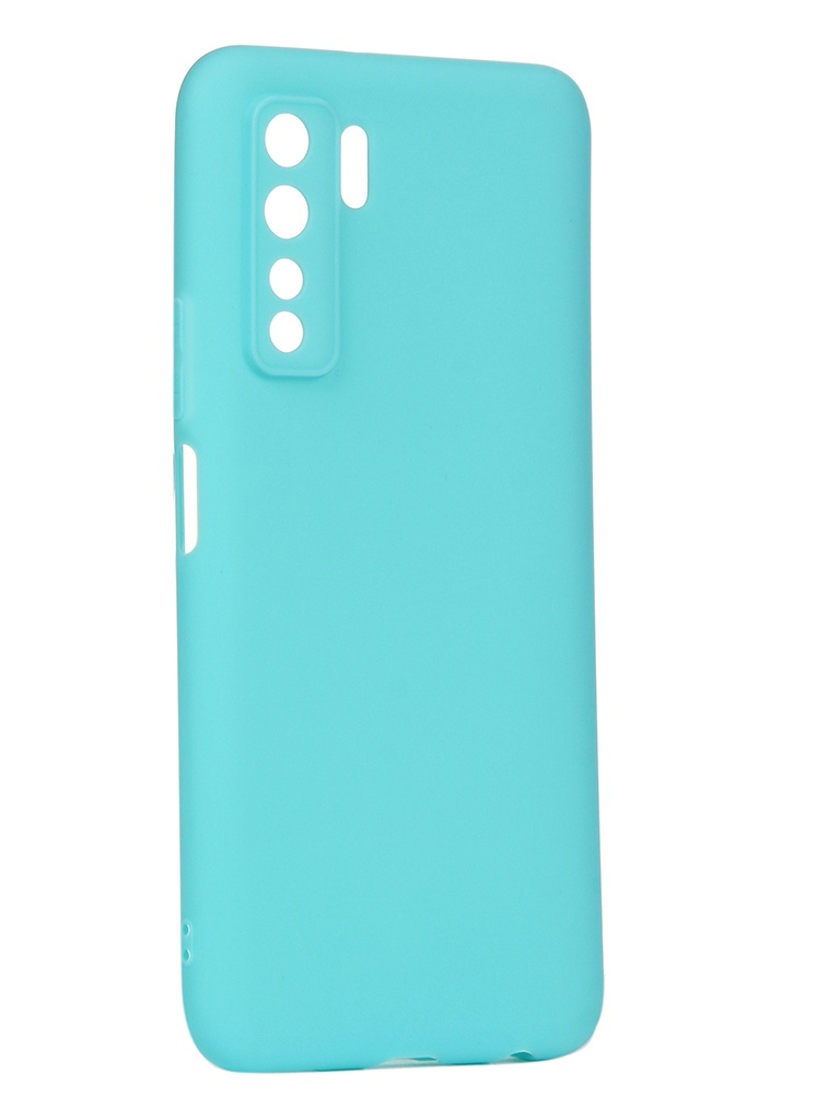 Чехол Neypo для Honor 30S Soft Matte Turquoise NST17900