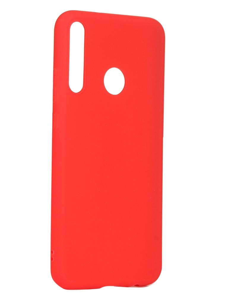 Чехол Neypo для Huawei P40 Lite E Soft Matte Red NST17131