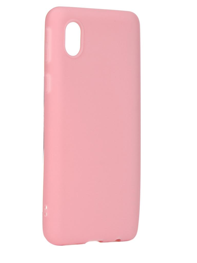 Чехол Neypo для Samsung Galaxy A01 Core 2020 Soft Matte Pink NST18528 чехол neypo для samsung galaxy a01 m01 2020 silicone soft matte black nst16372
