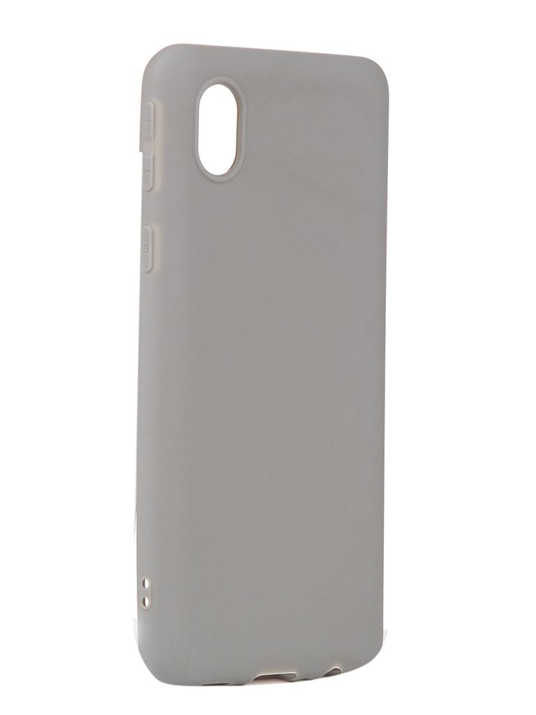 Чехол Neypo для Samsung Galaxy A01 Core 2020 Soft Matte Grey NST18529 чехол neypo для samsung galaxy a01 m01 2020 silicone soft matte black nst16372