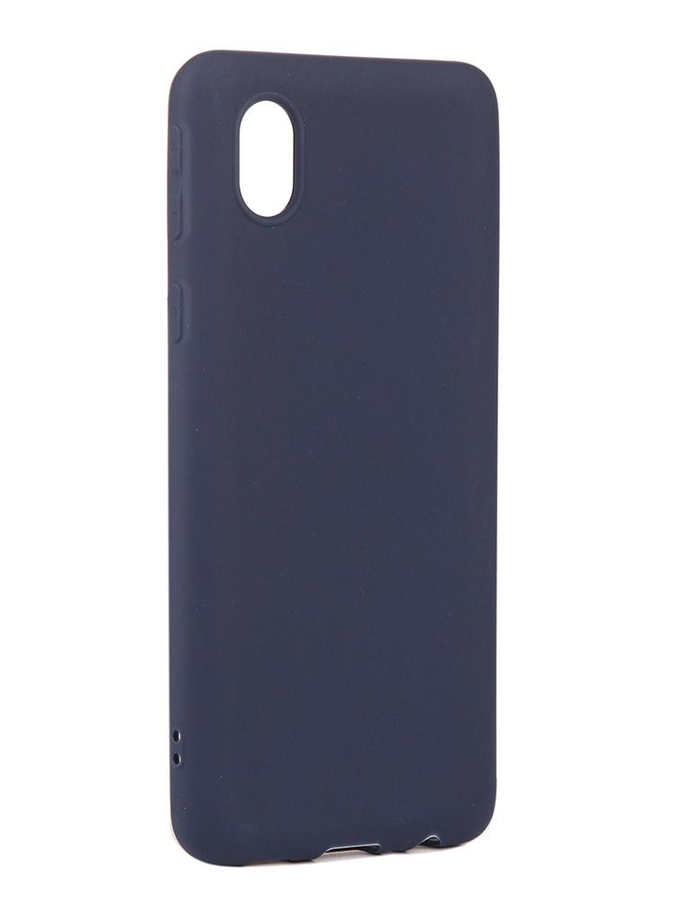 Чехол Neypo для Samsung Galaxy A01 Core 2020 Soft Matte Dark Blue NST18530 чехол neypo для samsung galaxy a01 m01 2020 silicone soft matte black nst16372