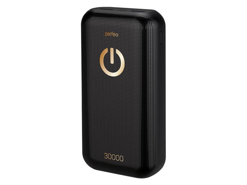 Внешний аккумулятор Perfeo Powerbank 30000mAh Black PF_B4300