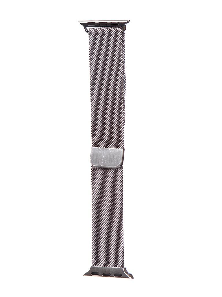 Аксессуар Ремешок Bruno для APPLE Watch 38/40mm Milano Silver 1030
