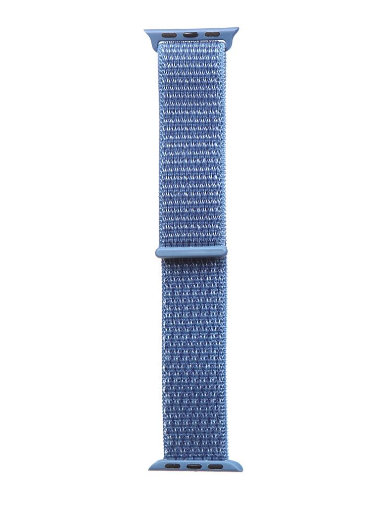 Аксессуар Ремешок Bruno для APPLE Watch 38/40mm Nylon Blue b21137