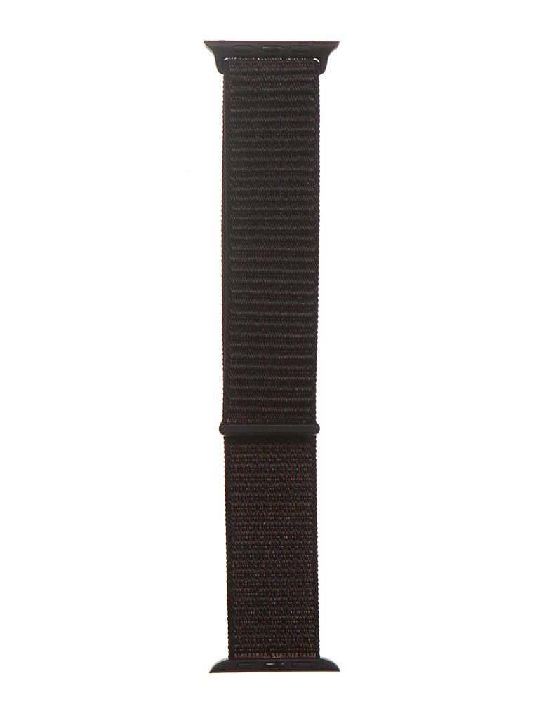 Аксессуар Ремешок Bruno для APPLE Watch 42/44mm Nylon Dark Grey 1016