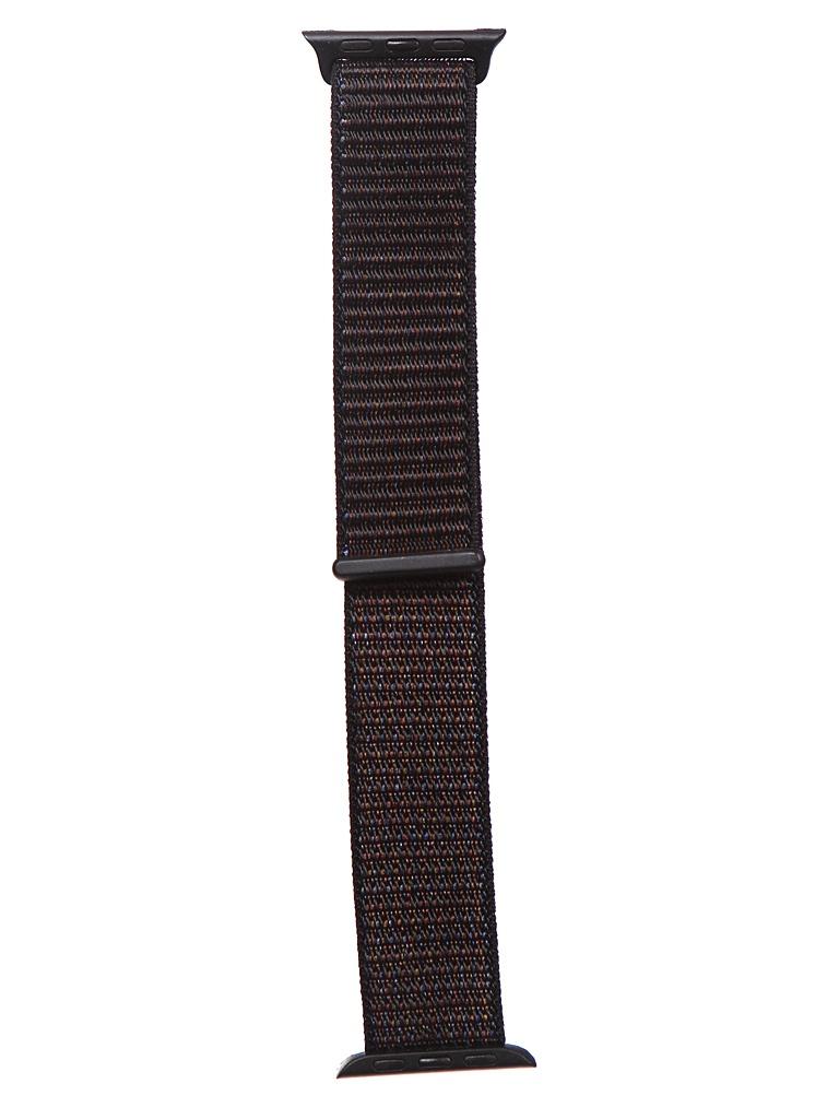 Аксессуар Ремешок Bruno для APPLE Watch 38/40mm Nylon Dark Grey 1020