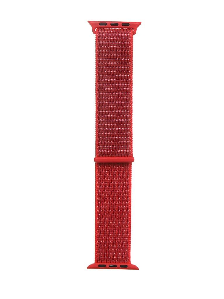 Аксессуар Ремешок Bruno для APPLE Watch 42/44mm Nylon Light Red b68690