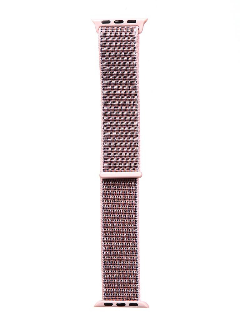 Аксессуар Ремешок Bruno для APPLE Watch 38/40mm Nylon Dark Pink b21140