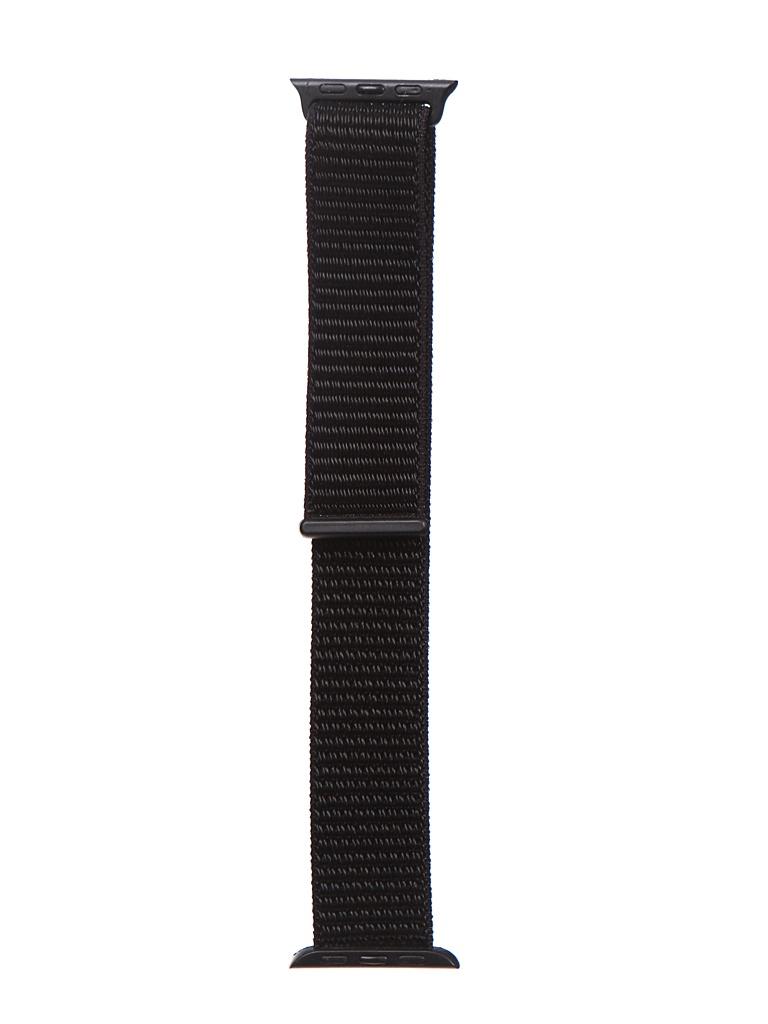 Аксессуар Ремешок Bruno для APPLE Watch 38/40mm Nylon Black b21138