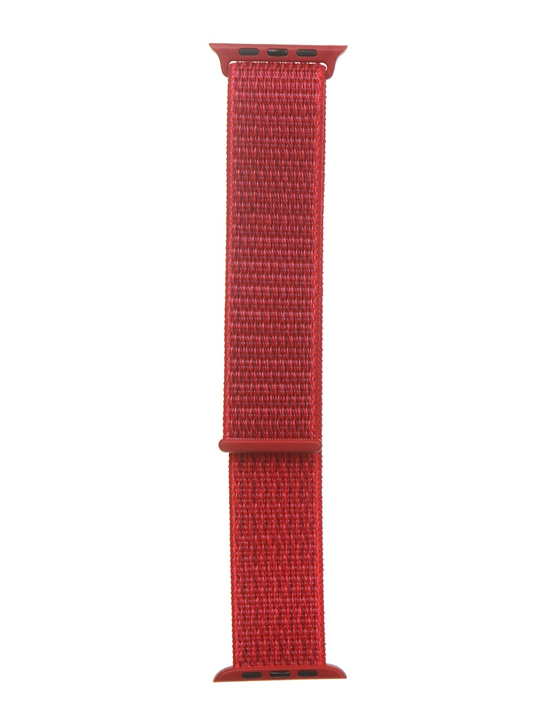 Аксессуар Ремешок Bruno для APPLE Watch 42/44mm Nylon Red 1014