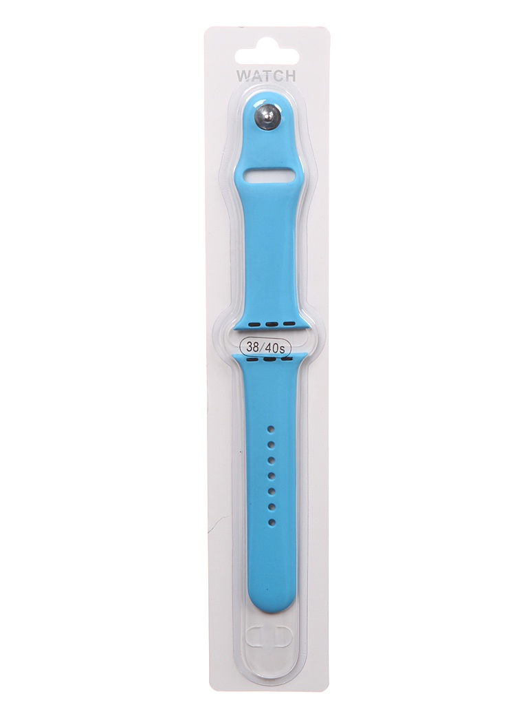Аксессуар Ремешок Bruno для APPLE Watch 38/40mm Silicone S/M Sky Blue b20540