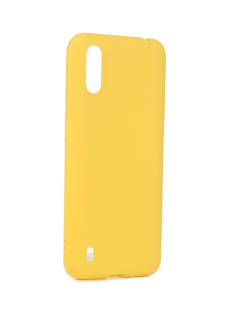 Чехол Neypo для Samsung Galaxy A01 / M01 (2020) Soft Matte Yellow NST16553