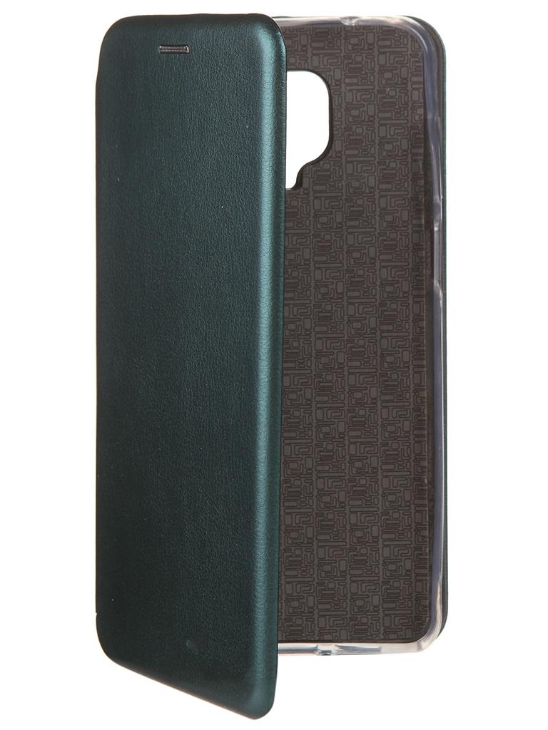 Чехол Neypo для Xiaomi Redmi Note 9S / 9 Pro Premium Dark Green NSB17391 чехол neypo для xiaomi redmi note 8 pro premium blue nsb15400