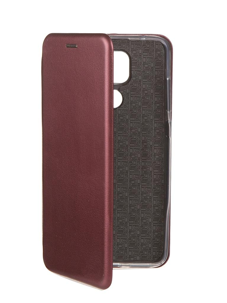 Чехол Neypo для Xiaomi Redmi Note 9 Premium Bordo NSB17815