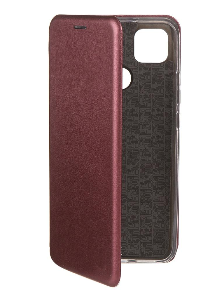 Чехол Neypo для Xiaomi Redmi 9C Premium Bordo NSB18077