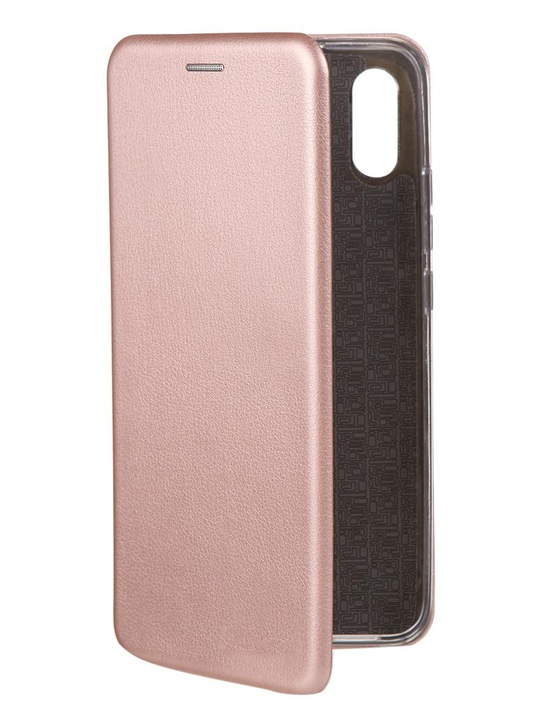 Чехол Neypo для Xiaomi Redmi 9A Premium Pink-Gold NSB18152