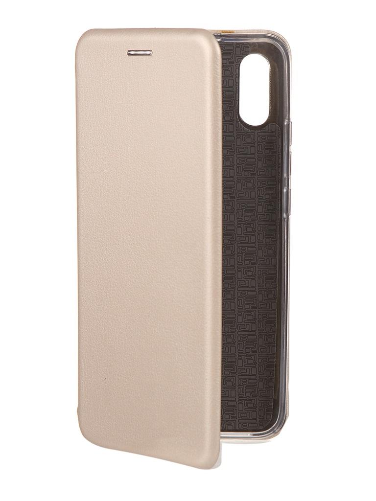 Чехол Neypo для Xiaomi Redmi 9A Premium Gold NSB18070