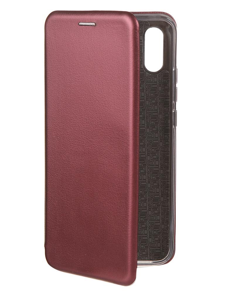 Чехол Neypo для Xiaomi Redmi 9A Premium Bordo NSB18078