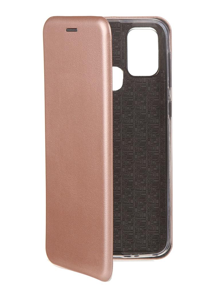 Чехол Neypo для Samsung M31 (2020) Premium Pink-Gold NSB18004