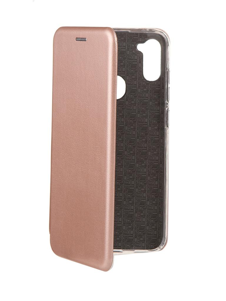 Чехол Neypo для Samsung A11 / M11 (2020) Premium Pink-Gold NSB18323