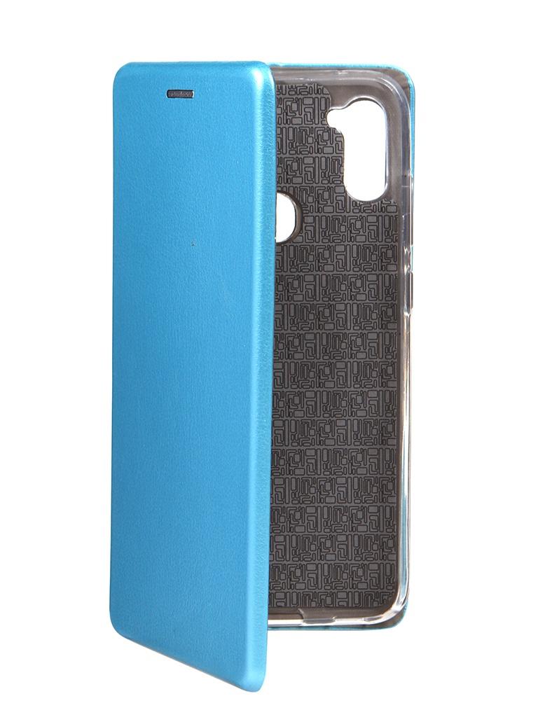Чехол Neypo для Samsung A11 / M11 (2020) Premium Blue NSB18612