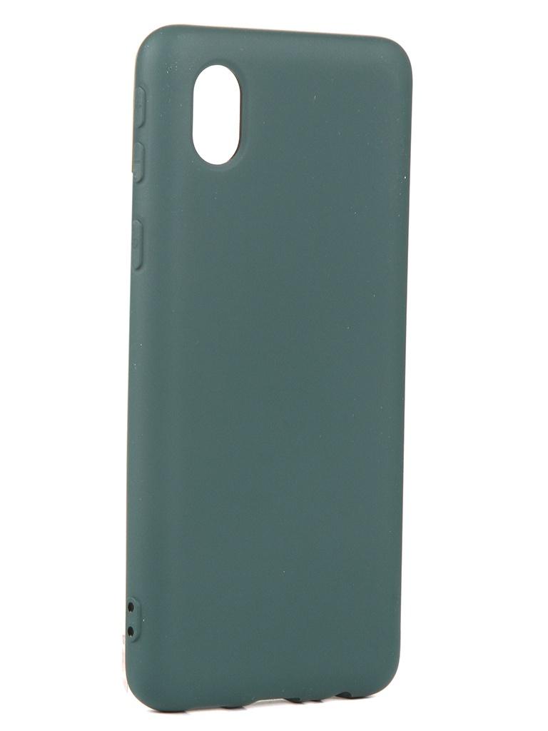 Чехол Neypo для Samsung A01 Core (2020) Silicone Dark Green NSC18683
