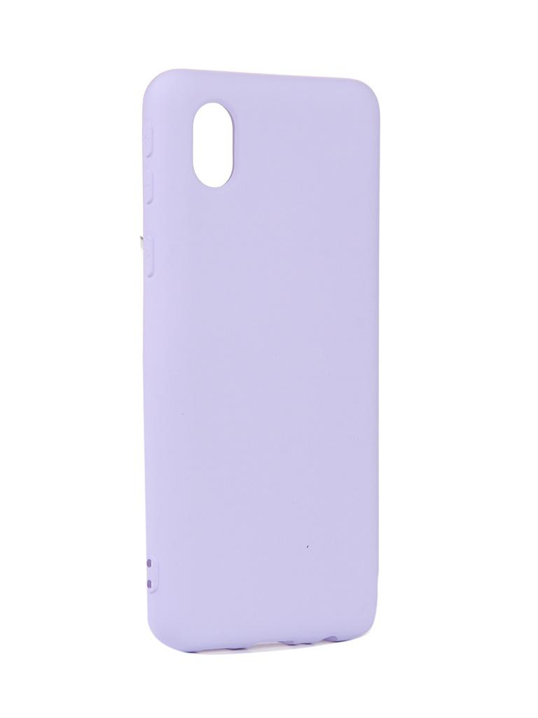 Чехол Neypo для Samsung A01 Core (2020) Silicone Purple NSC18682