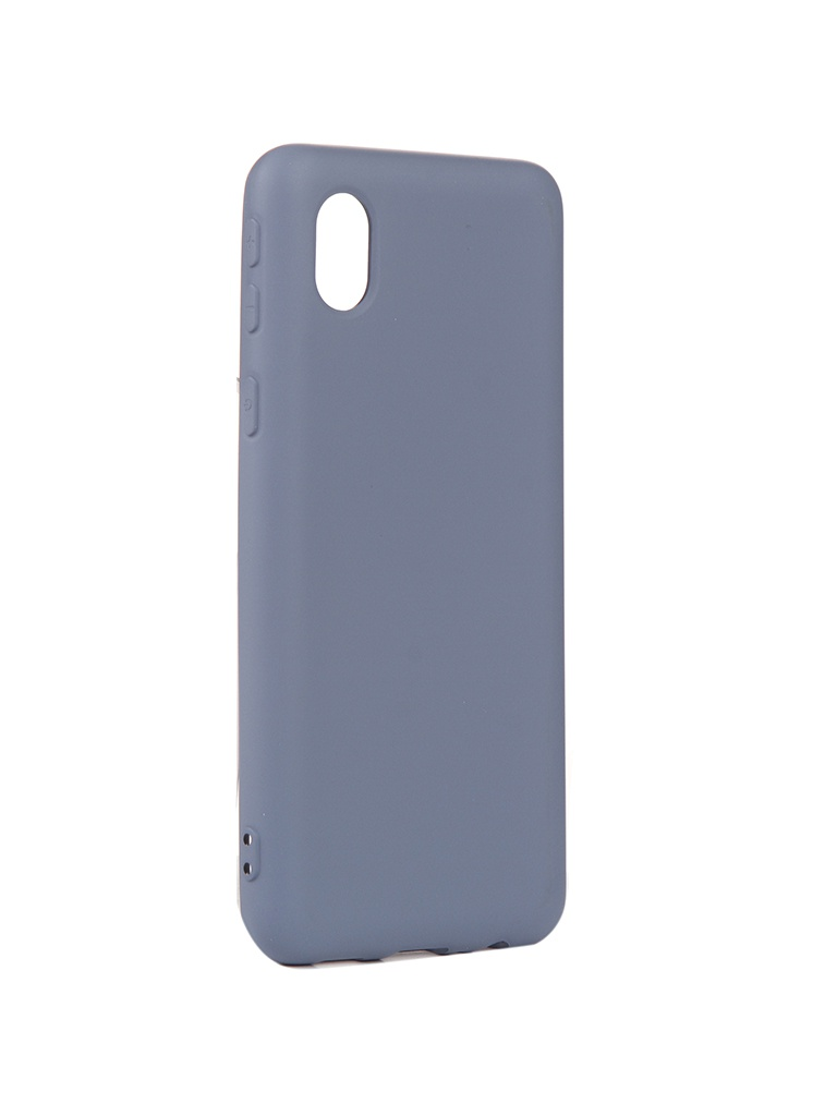 Чехол Neypo для Samsung A01 Core (2020) Silicone Grey NSC18678