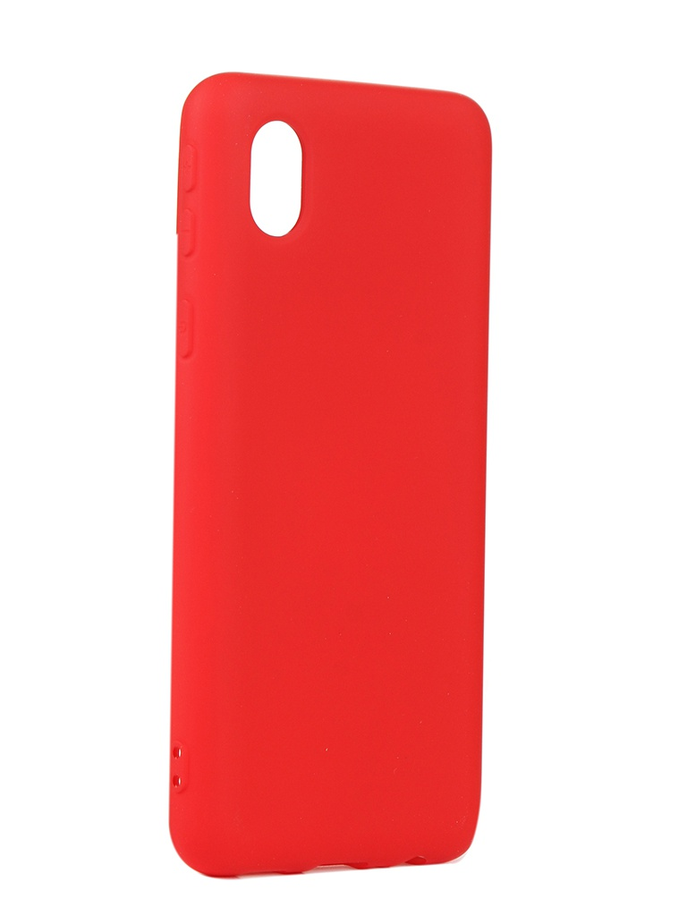 Чехол Neypo для Samsung A01 Core (2020) Silicone Red NSC18679